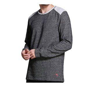 Tommy Bahama Charcoal Heather Fleece Sweatshirt L